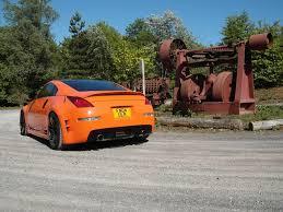 orange nissan 350z orange 350z 350 z pinterest