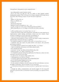 sample resume format for undergraduate students essay augustus