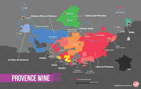 France Regions Map by Essential Guide To Provence Wine Region With Maps Wine Folly