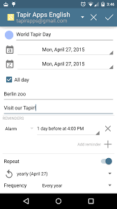 add reminder in android acalendar android calendar android apps on play