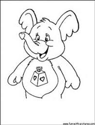 image result care bears coloring pages carebear