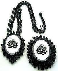 bead necklace ebay images Hematite necklace ebay JPG