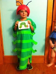 my very hungry caterpillar dress up as a book character at