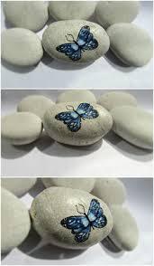 Butterfly Desk Accessories Painted Rocks Desk Accessories Set Desk Decor Paperweight