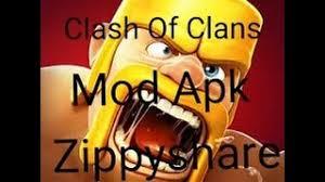 mod apk zippyshare mod apk clash of clans