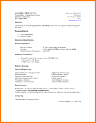 sample ece resume resume samples for final year students frizzigame 6 cv samples for undergraduate students mail clerked