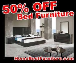 Bedroom Furniture Set 50 Percent Off Discount Modrest Ari Italian Modern Grey Bedroom
