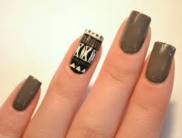 black nail art design nailartdiy com
