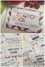 free printable the christmas coupon book gives students a gift