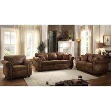 rustic livingroom furniture rustic living room sets you ll wayfair