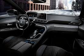 peugeot 2008 interior 2015 2017 peugeot 5008 revealed with striking new look autocar