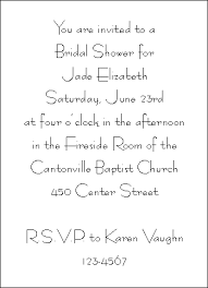 bridal shower invite wording bridal shower invitations wording orionjurinform