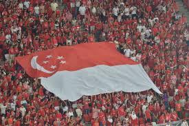 Singapore Flag Button Ndp 2016 Kallang Wave Roars Through National Stadium As Singapore
