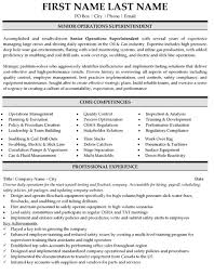 Construction Superintendent Resume Samples by Top Operations Resume Templates U0026 Samples
