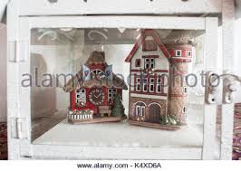 miniature ceramic houses stock photo royalty free image 13260146