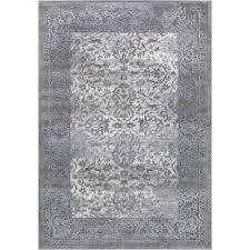 Concord Global Area Rugs Concord Global Trading Thema Vintage Teal 5 Ft 3 In X 7 Ft 3 In