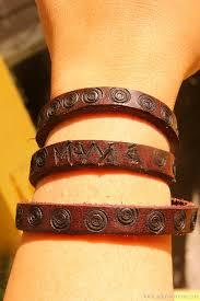 leather bracelet craft images Diy personalized leather bracelet craft by claudya jpg