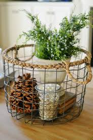 Taking Your Decor from Christmas to Winter At The Picket Fence