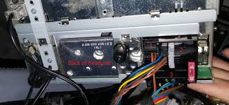 help with wiring on oem headunit mbworld org forums
