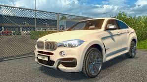 mod car game euro truck simulator 2 ets2 bmw x6m mod euro truck simulator 2 youtube