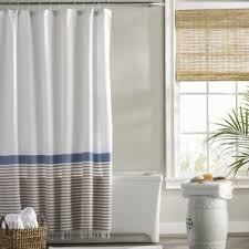 Plastic Sheet Curtains Modern Shower Curtains Allmodern