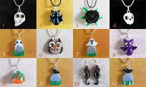 halloween jewelry by dragonsandbeasties on deviantart