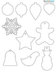 cutout ornament printable merry happy new