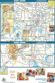 Florida Map Orlando by Orlando Road Map