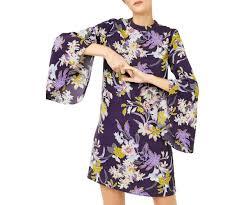 dress pattern john lewis warehouse orchid flared cuff dress purple pattern john lewis