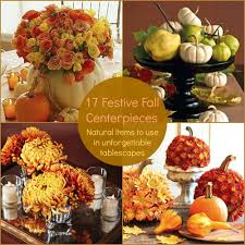 Fall Dining Room Table Decorating Ideas 19 Festive Fall Centerpieces Holidays Pinterest Centerpieces