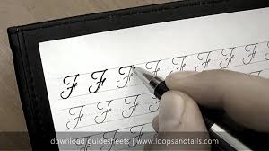 how write cursive handwriting learn cursive handwriting capital f