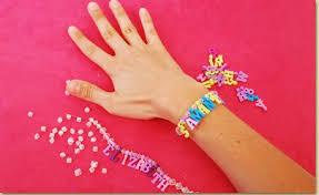 Name Bracelets Charm Name Bracelets Craft Project Ideas