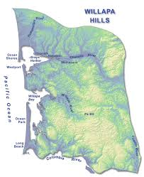 Oregon Tsunami Map by Willapa Hills Wa Dnr