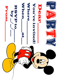 free mickey mouse clubhouse invitation template