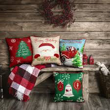 decorative home accents home accents holiday santa car decorative pillow eg02p01d 9d4
