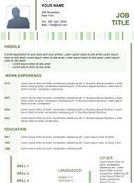 modern resume examples jospar