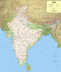 India Physical Map by India Maps Maps Of India