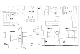three bedroom floor plans 3 bed 3 bath deluxe bedroom 1 olde towne square