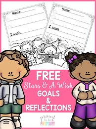 teaching children to reflect and set goals proud to be primary