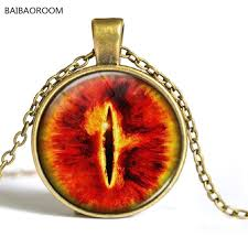 locket necklace aliexpress images Western jewelry eye sauron time gem necklace aliexpress supply in jpg