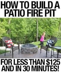 Diy Fire Pit Patio by Diy Firepit For 20 Buy A 15 Gallon Wash Pail From Lowe U0027s They