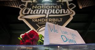 Vanderbilt Flag Vanderbilt Pitcher Donny Everett Dies In Drowning Accident