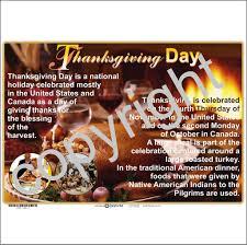 thanksgiving depicta
