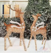 metal light winter yard décor ebay