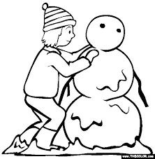 9 winter coloring pages images coloring sheets