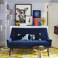 mrs godfrey settee modern furniture jonathan adler