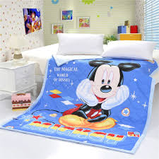 Comforters Bedding 3d Disney Cartoon Mickey Mouse Printed Quilts Comforters Bedding