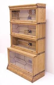 Globe Wernicke Bookcase 299 Globe Wernicke Quarter Sawn Oak Grade 299 1 2 With Square Top And