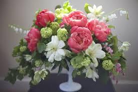 Peony Arrangement Workshops U2014 Floral Centerpieces Featuring Peonies Flirty Fleurs