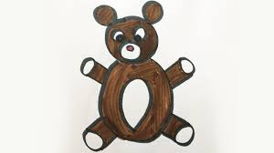 draw color teddy bear kids